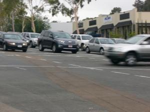 Cars on Aero Drive